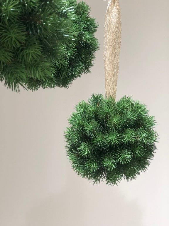 Hanging  Pine Topiary Small