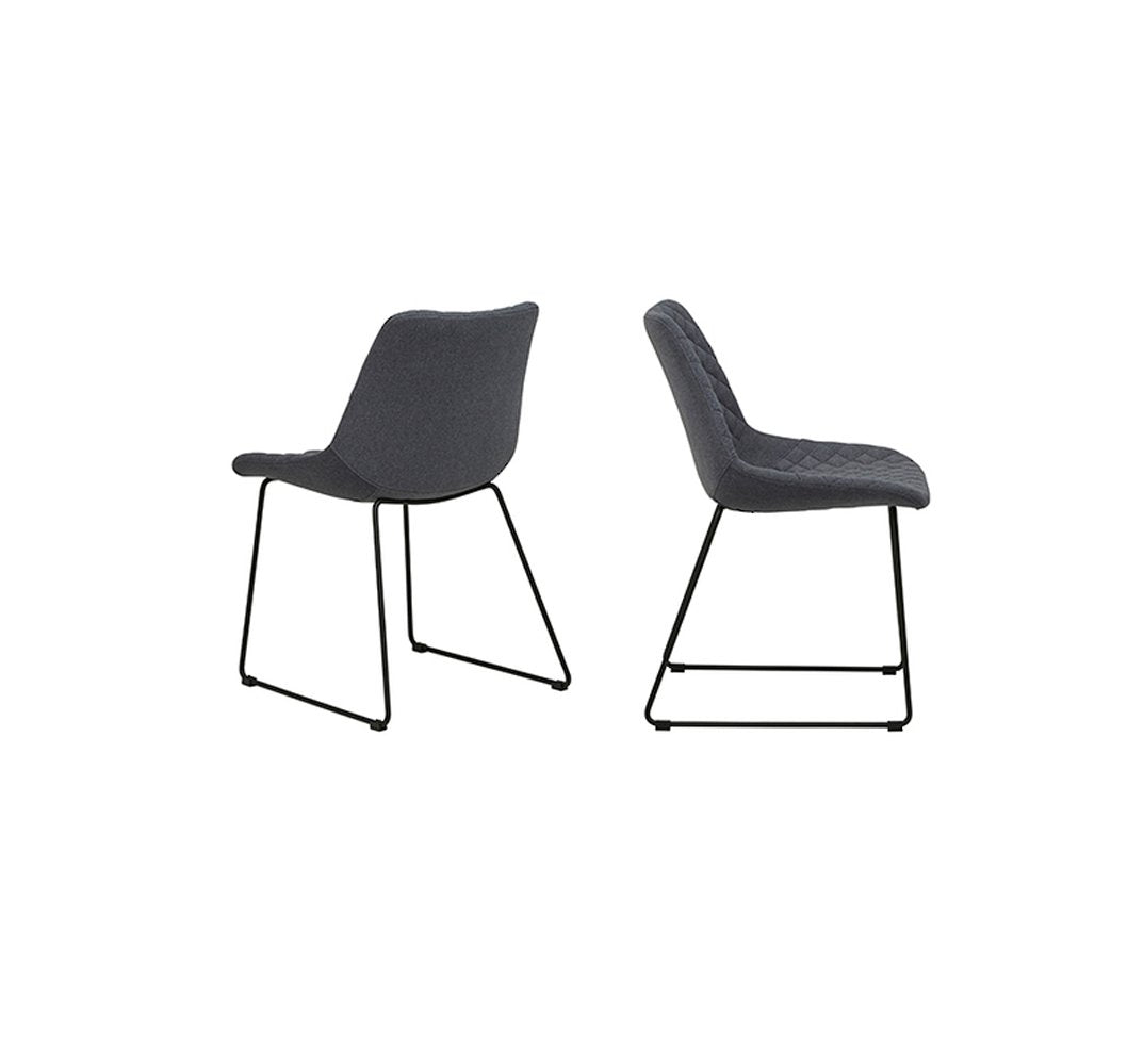 Henri Dining Chair - Charcoal