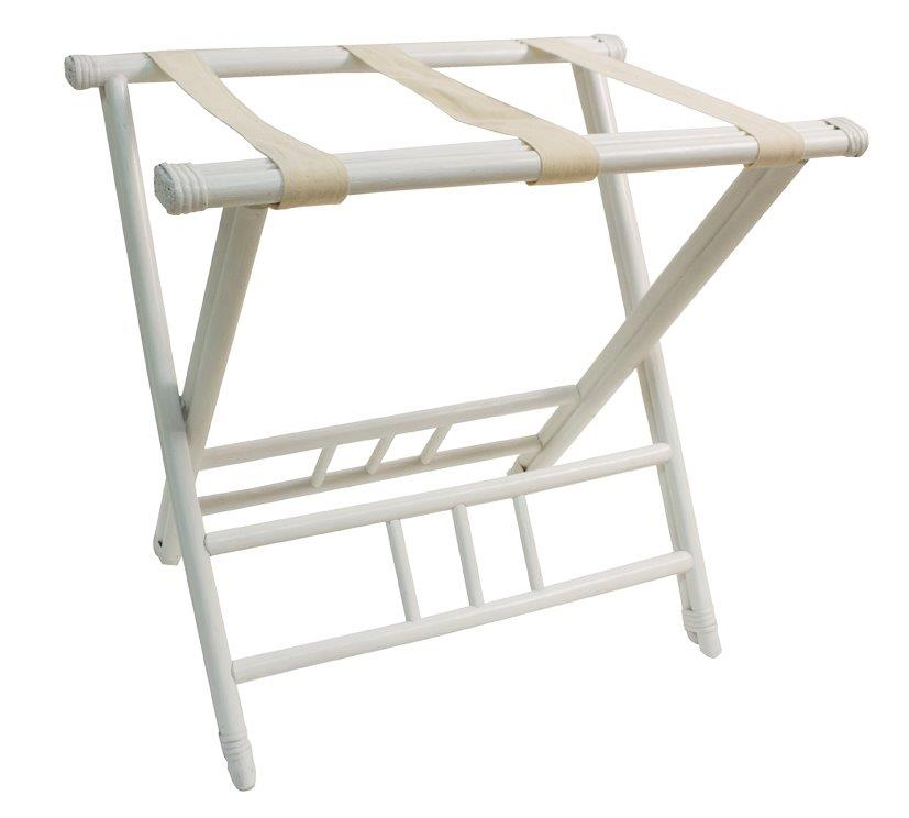 Luggage Rack - White