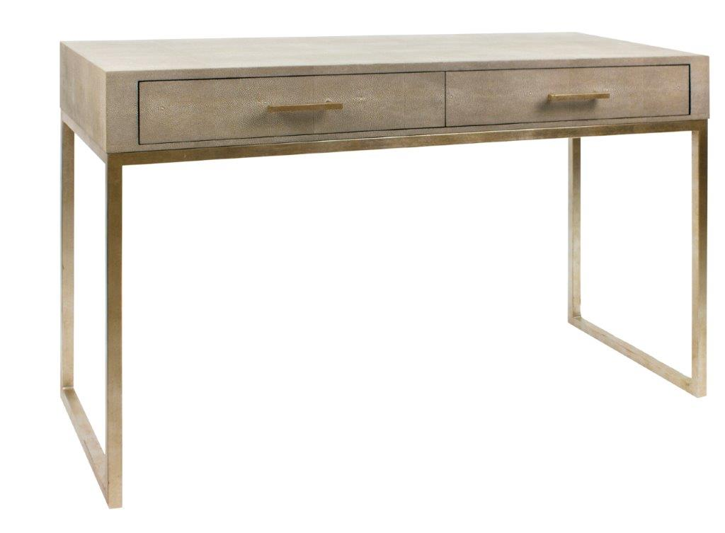 Clarice 2 Drawer Console Taupe
