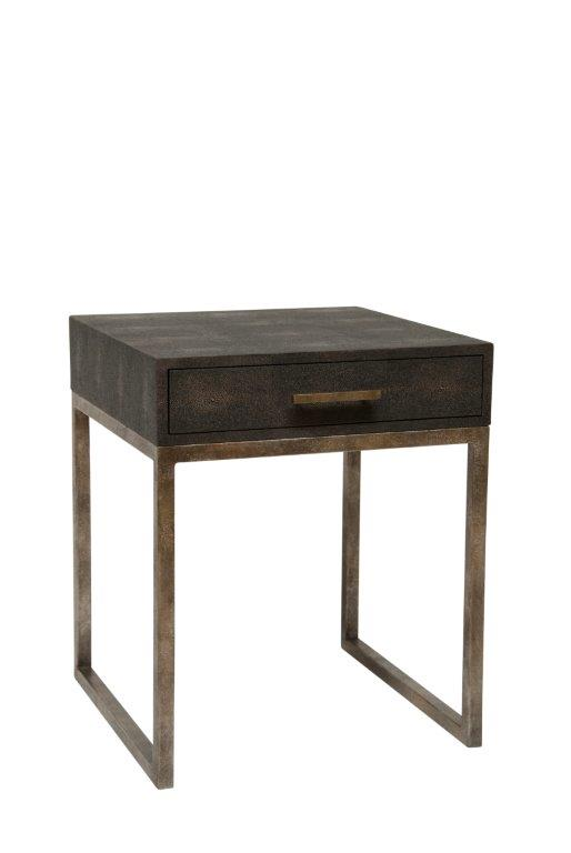 Clarice Side Table, 1 Drawer