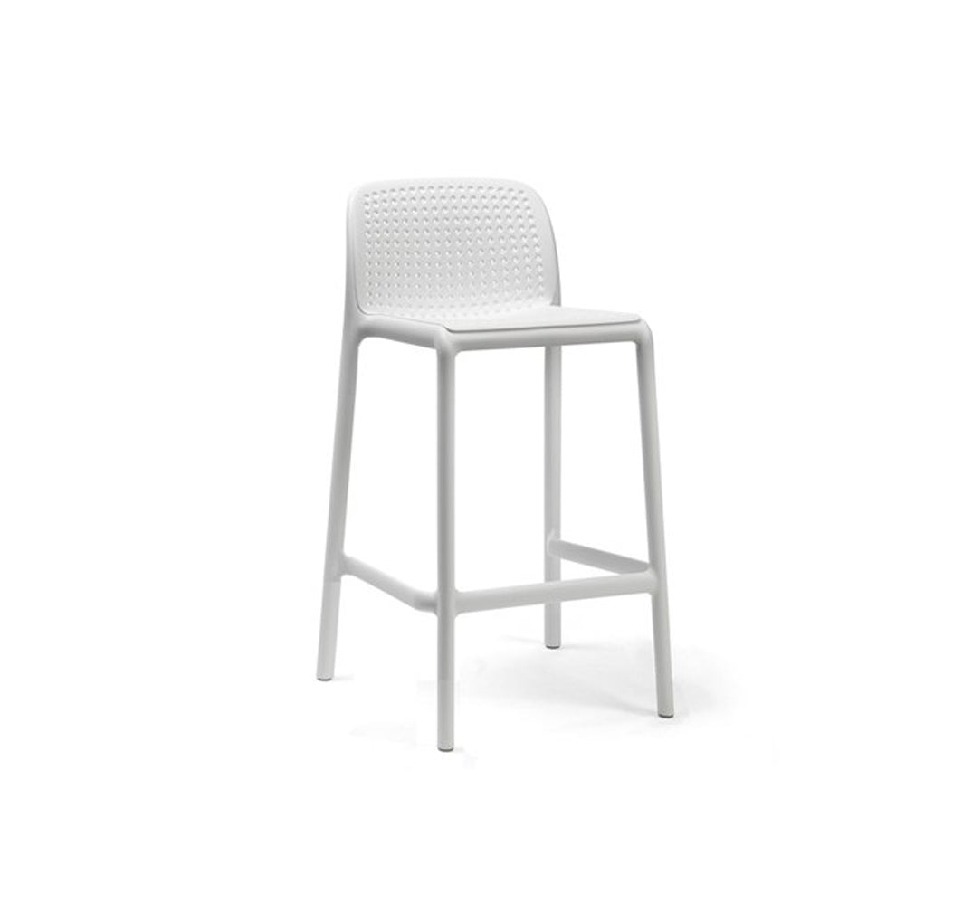 Lincoln Bar Stool - White