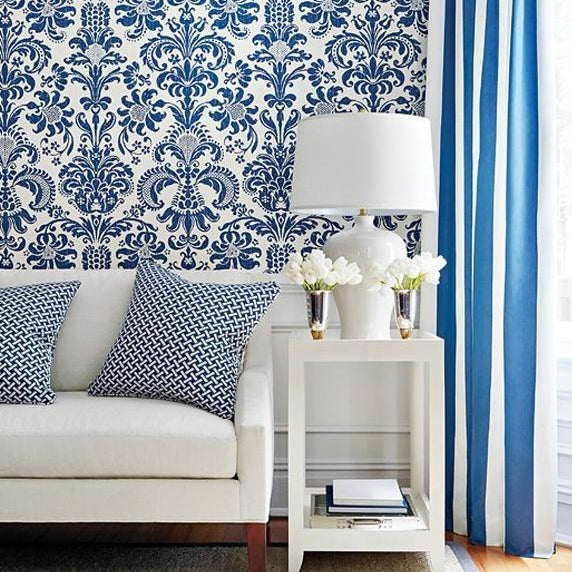 Ashley  - Thibaut Damask Resource Collection