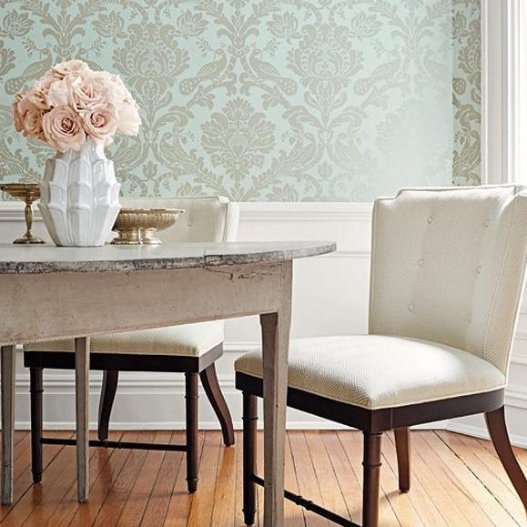 Passaro Damask - Thibaut Damask Resource Collection