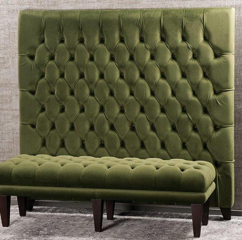 Bianca Lorenne Bettino Headboard - Olive