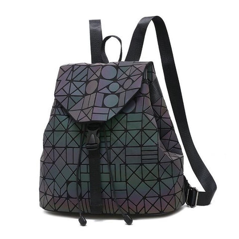 Luminous Sequin Holographic REFLECTIVE DRAWSTRING BAG