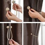 Magnet Buckle Curtain Tieback / 1pc