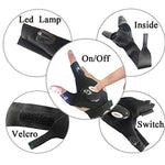 Handy LED Flashlight Glove