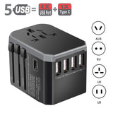 INTERNATIONAL TRAVEL ADAPTER - SO CONVENIENT!