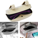 CAR SUNSHADES CASE - KEEPS YOUR GLASSES IN THEIR PLACE!