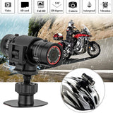 New Sports Camera Full HD 1080P Motorcycle Mountain Bike Bicycle Camera Helmet Action DVR Video Cam Motorcycle Camera Recorder