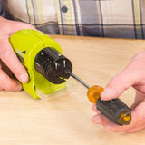 CORDLESS MOTORIZED KNIFE SHARPENER
