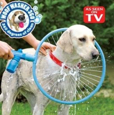 360 PET WASHER - PETS LOVE IT!
