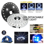 LED DETACHABLE TENT LIGHT - LET'S GET THE PARTY STARTED!