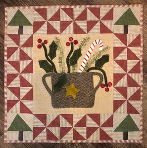 Basket of Christmas Pattern