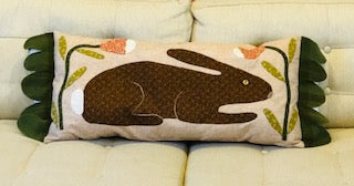 Happy Bunny Pillow Downloadable Pattern