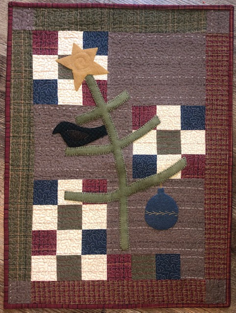 Primitive Christmas Quilt Pattern- Digital Download