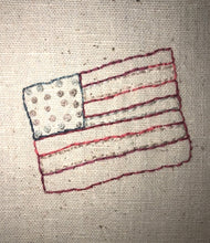 Load image into Gallery viewer, Mini Wool Quilt BOM Block 15 - Flag