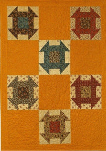 Cheddar Churn Primitive Quilt Pattern - Digital Download