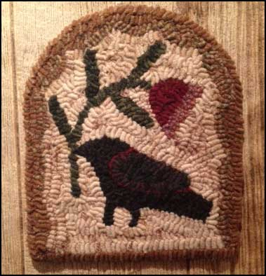 Picking Posies Primitive Rug Hooking Kit