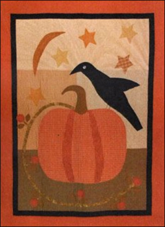 The Great Pumpkin Primitive Quilt Pattern