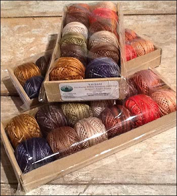 Set of Hand-dyed Valdani Primitive Treasures Collection