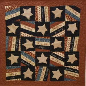 Give Me Liberty Primitive Quilt Pattern
