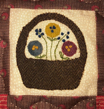 Load image into Gallery viewer, Mini Wool Block Quilt Weekly Sew Along - Block 3