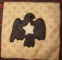 Load image into Gallery viewer, Mini Wool Block Quilt Weekly Sew Along - Week 14 -Eagle