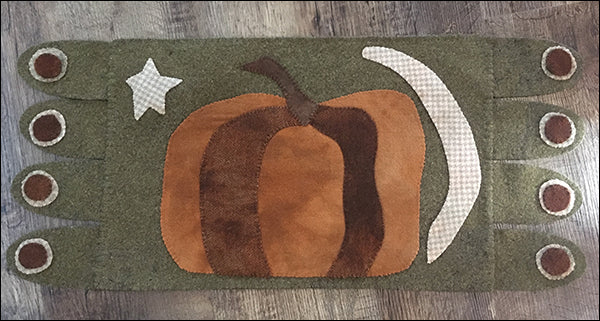 Pumpkin Moon Primitive Applique Kit