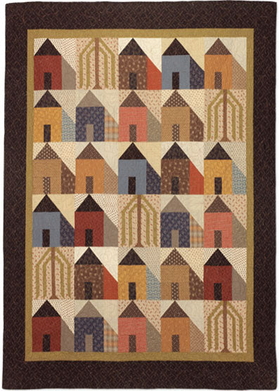 Willow Street Primitive Quilt Pattern