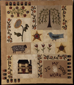 Things We Love Primitive Quilt Pattern