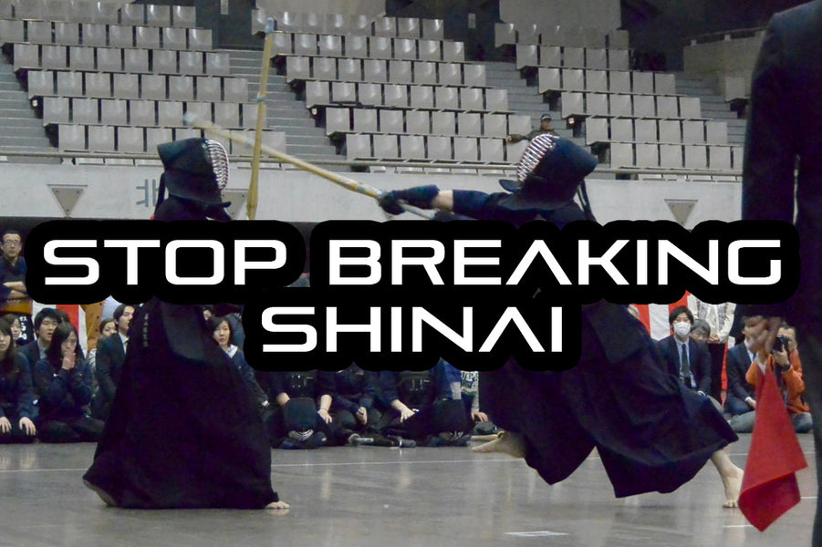 [KENDO RANT] - STOP Breaking Shinai! Kendo in Daily Life?