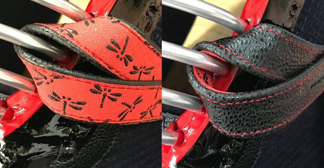 Reversible 'INDEN' Men Chichikawa - BLACK on RED TONBO