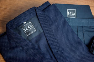 JUNIOR SIZE - KendoStar Essentials: Single Layer Cotton Kendogi & Synthetic Hakama Uniform Set