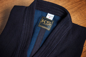 *NEW - 50% OFF*  'KINBOSHI' - Double Layer Kendogi & #10,000 Hakama Prestige Uniform Set