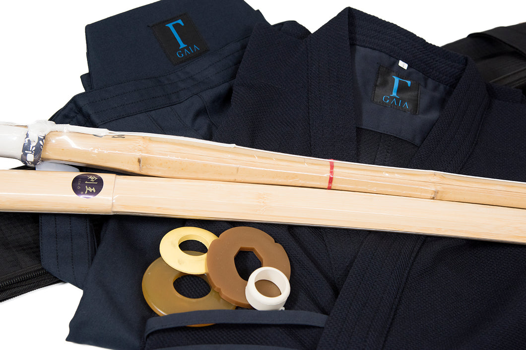 *60% OFF!!* - KENDO START UP VALUE SET - Uniform Set, Shinai, Bokken & Carry Bag!