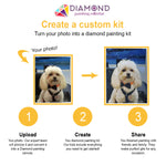 Load image into Gallery viewer, Custom Pet Diamond Painting Kit - Full Drill