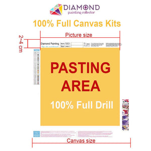 Polygon Dear DIY Diamond Painting Kit