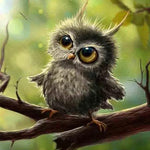 Load image into Gallery viewer, Little Owl DIY Diamond Painting Kit
