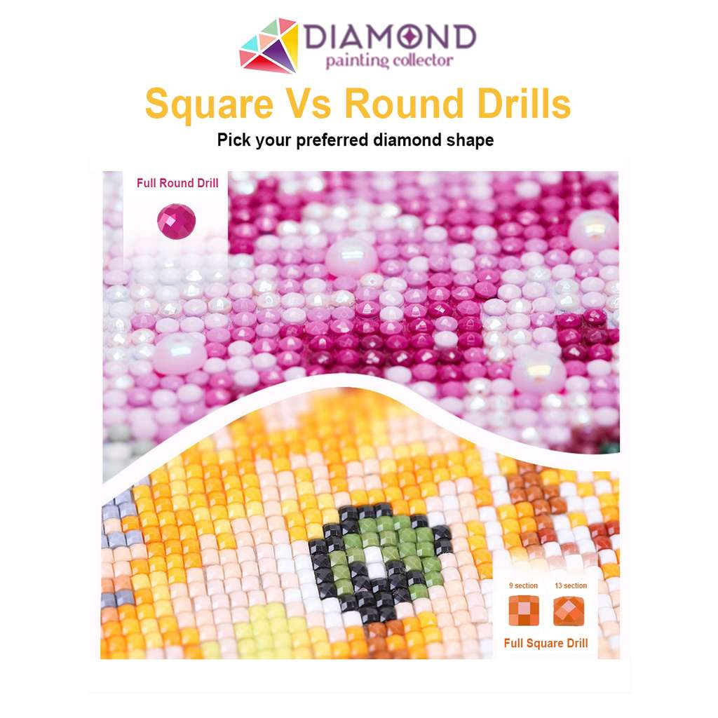 Orange Carp Fish DIY Diamond Painting Kit