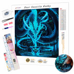 Load image into Gallery viewer, Abstract Dragon DIY Diamond Painting Kit