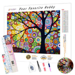 Load image into Gallery viewer, Abstract Tree DIY Diamond Painting Kit