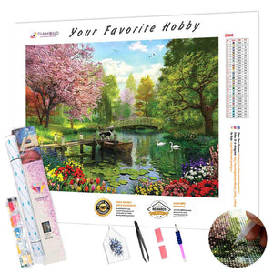 All Colors of Autumn DIY Diamond Painting Kit - Hidden