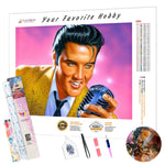 Load image into Gallery viewer, Amazing Elvis DIY Diamond Painting Kit