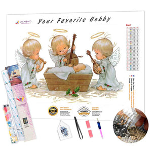 Angel Lullaby DIY Diamond Painting Kit