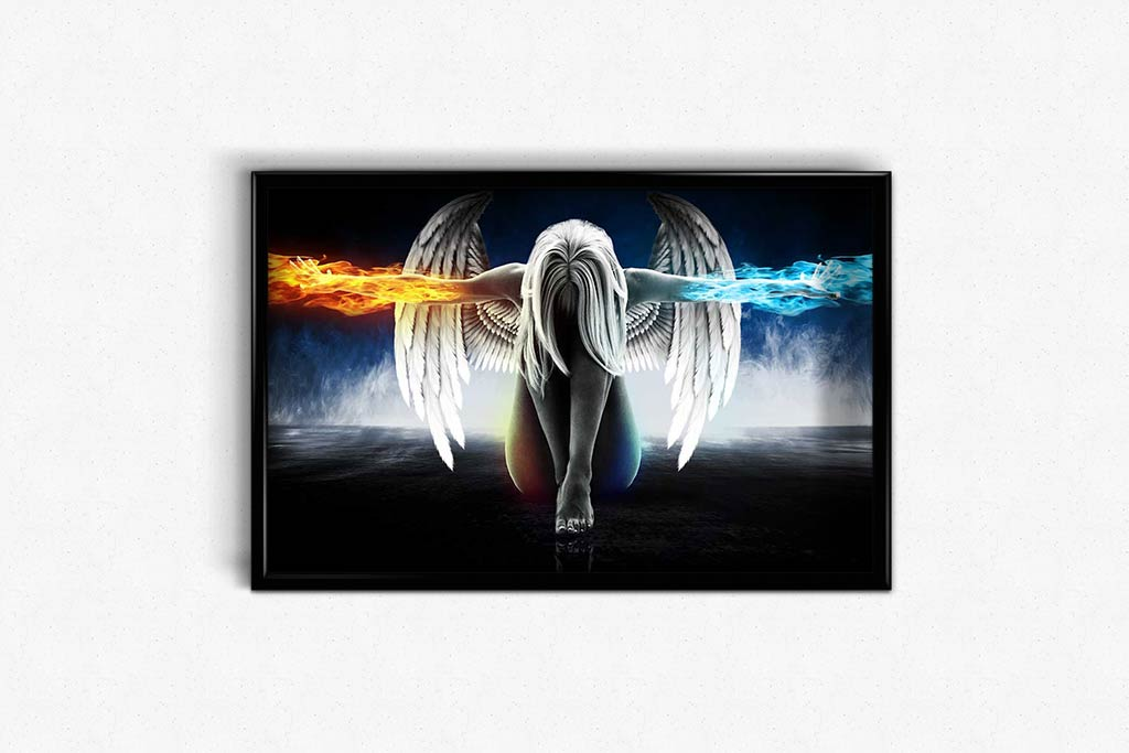 Angel of Fire and Ice DIY Diamond Painting Kit