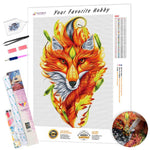 Load image into Gallery viewer, Autumn Fox DIY Diamond Painting Kit