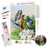Load image into Gallery viewer, Beautiful Birds DIY Diamond Painting Kit