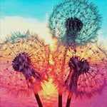 Load image into Gallery viewer, Beautiful Dandelions DIY Diamond Painting Kit